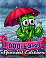 1,000 Weekly Challenge Badge