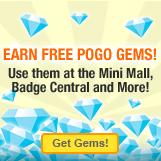 Earn Free Pogo Gems