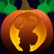 halloween spike lantern