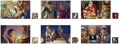 Sherlock Holmes Badges
